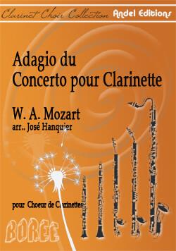 Adagio du Concerto pour clarinette - W. A. Mozart - arr. José Hanquier