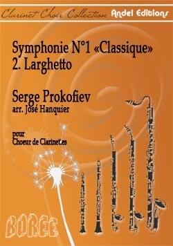 Symphonie N°1 - Classique 2. Larghetto - S. Prokofiev - arr. J. Hanquier