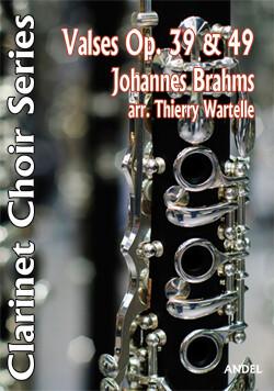 Valses Op. 39 & 49 - Johannes Brahms - arr. Thierry Wartelle
