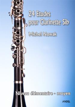 24 Etudes pour Clarinette - Michel Nowak
