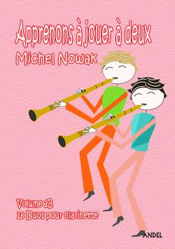 Apprenons à jouer à deux - Michel Nowak - Vol 2B