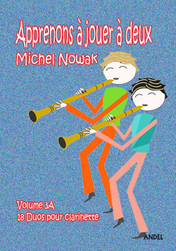 Apprenons à jouer à deux - Michel Nowak - Vol 3A