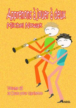 Apprenons à jouer à deux - Michel Nowak - Vol 3B