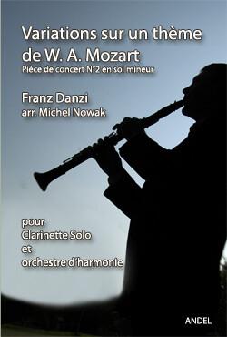 Variations sur un thème de W. A. Mozart - Franz Danzi - arr. M. Nowak
