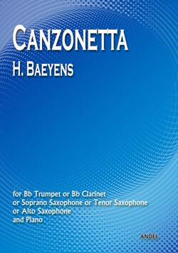 Canzonetta - H. Baeyens
