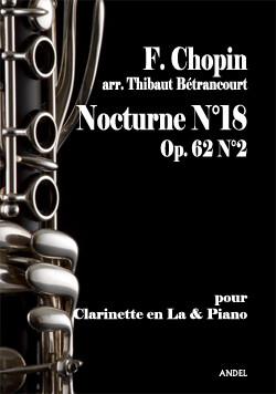 Nocturne N°18 - F. Chopin - arr. Thibaut Bétrancourt