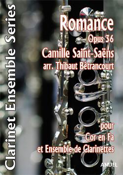 Romance Op 36 - Camille Saint-Saëns - arr. Thibaut Bétrancourt