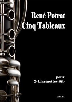 Cinq Tableaux - René Potrat