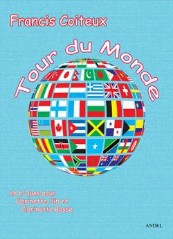 Tour du monde - Francis Coiteux - 6 Duos for Bb clarinet & Bassclarinet
