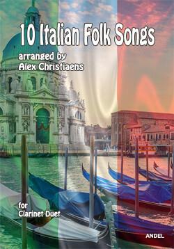 10 Italian Folk Songs - arr. Alex Christiaens