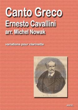 Canto Greco - Ernesto Cavallini - arr. Michel Nowak