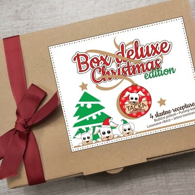 BOX DELUXE CHRISTMAS EDITION 4x100g + DARILO ZA LASTNIKE: