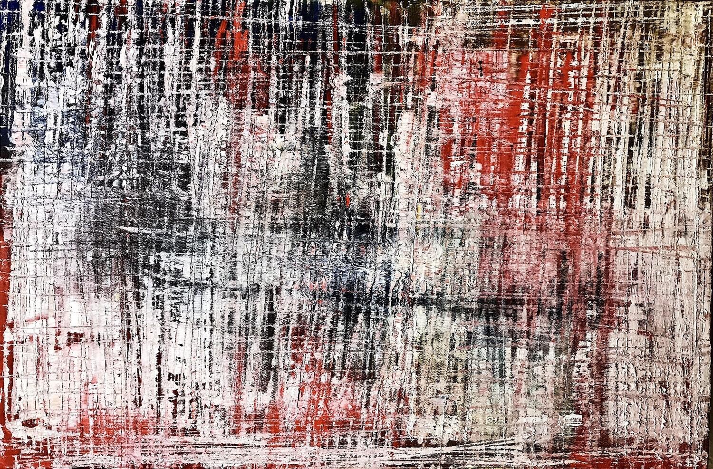 Power ReMarks 04 - Oil And Acrylic on Canvas (Framed/Unframed)