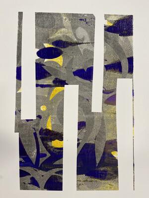 Mix Monoprint, Untitled 04