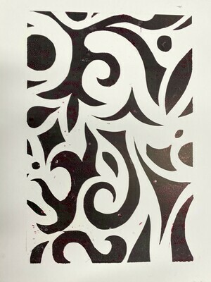 Mix Monoprint, Untitled 06