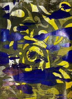 Mix Monoprint, Untitled 05