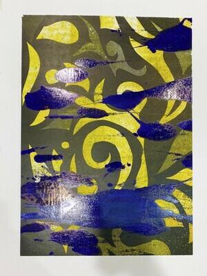Mix Monoprint, Untitled 07