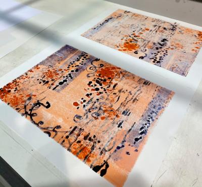Mix Monoprint, Untitled 03