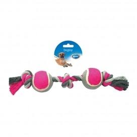 Speeltje Duvo Touw Grijs/Roze