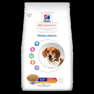 Hill's Vetessentials Dental Health Hond Mature Adult Medium & Large Breed