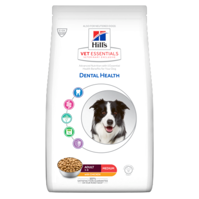 Hill's Vetessentials Dental Health Hond Adult Medium