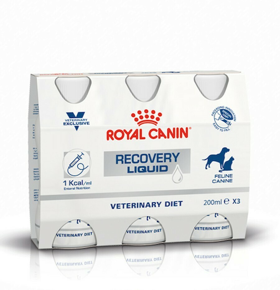Royal Canin Recovery Liquid 3 x 200 ml