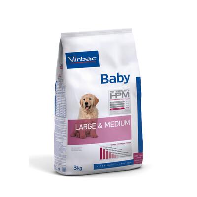 Virbac HPM Baby Hond Large & Medium
