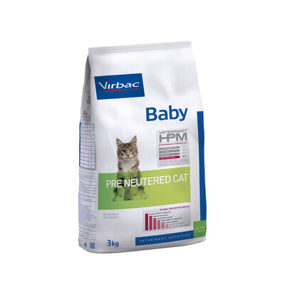 Virbac HPM Baby Pre Neutered Kat
