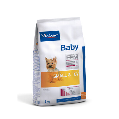 Virbac HPM Baby Hond Small & Toy
