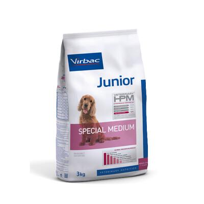 Virbac HPM Junior Hond Special Medium