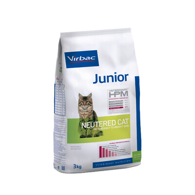 Virbac HPM Junior Neutered Kat