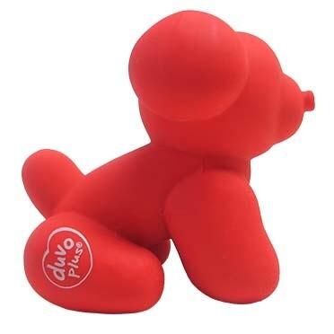 Speeltje Duvo Latex Pug Rood