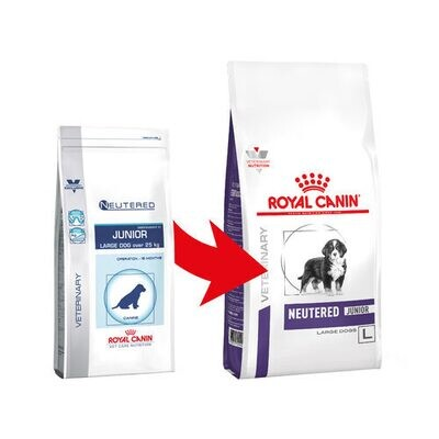 Royal Canin Neutered Junior Large Dogs