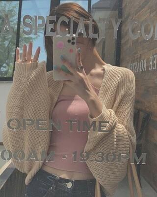 Knit Cardigan Set | 温柔小姐姐针织开衫+背心套装