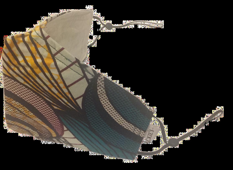 Handmade mask greenball design *3 LAYER*