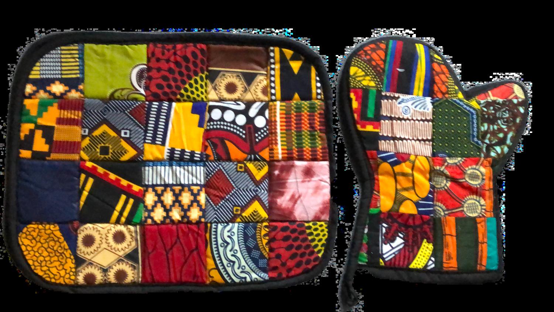 African design kitchen set