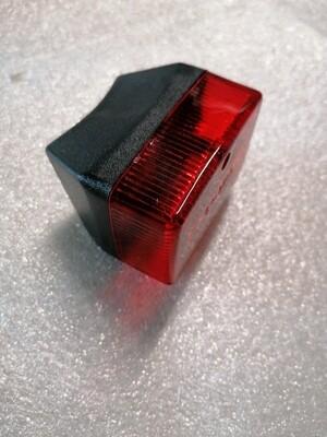Achterlicht klein rood/zwart