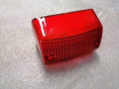 Achterlicht glas rood