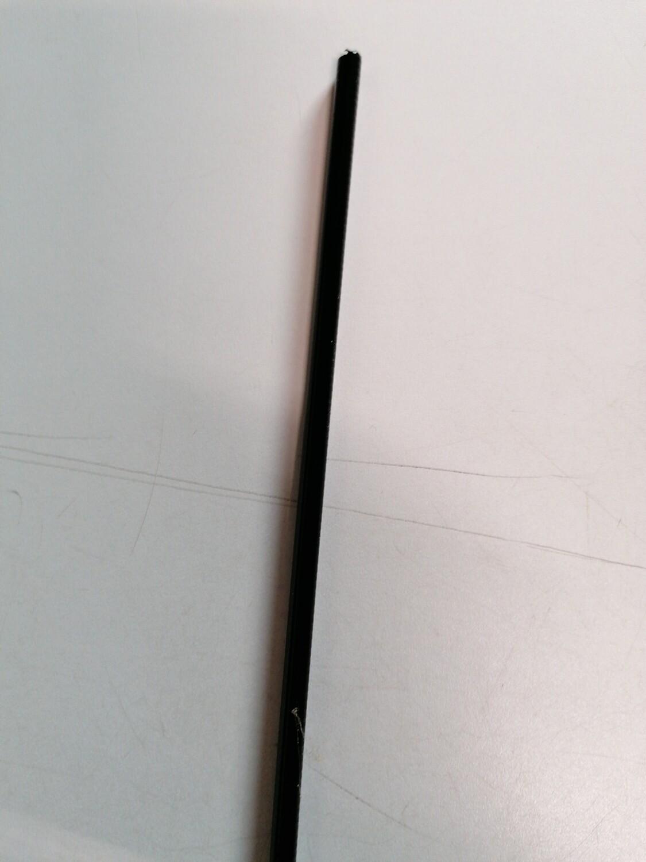Buitenkabel zwart ( 1 meter)