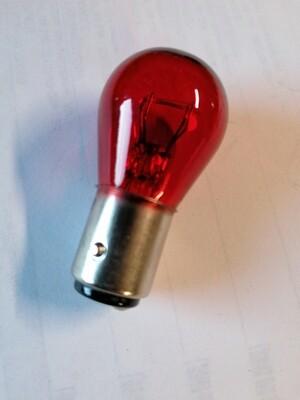 Lampje 12v 21/5w rood (achter)