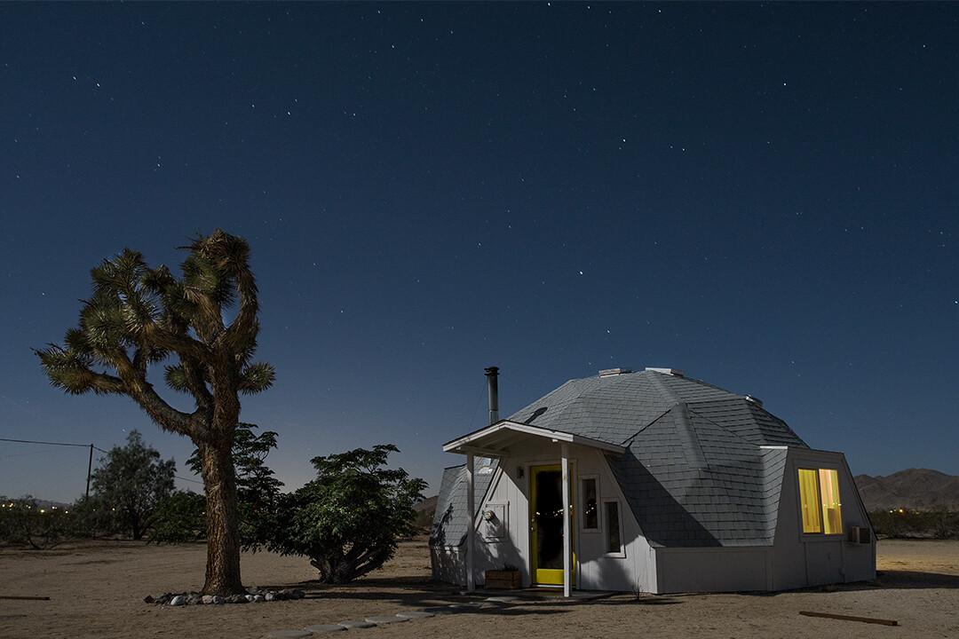 DOME IN THE DESERT - JOSHUA TREE | USA