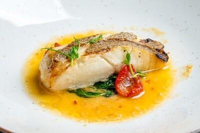 Cod fish w/ side of veggies
