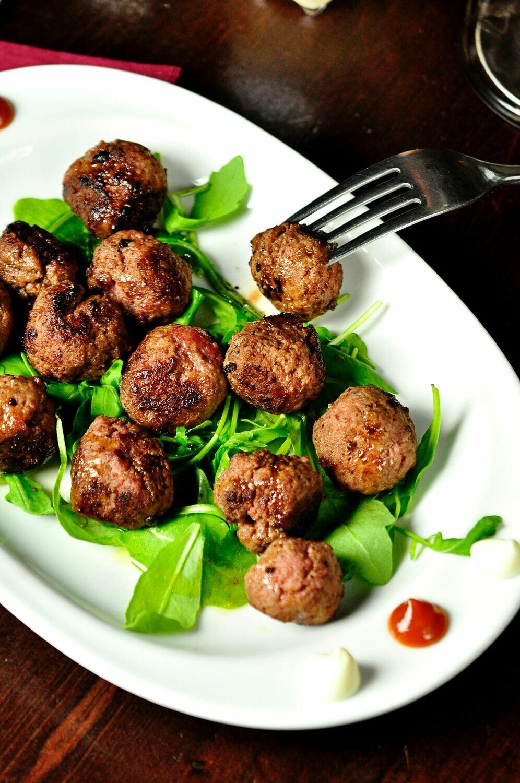 Bison Meat Balls