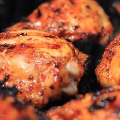 Chicken thighs by the lb.
