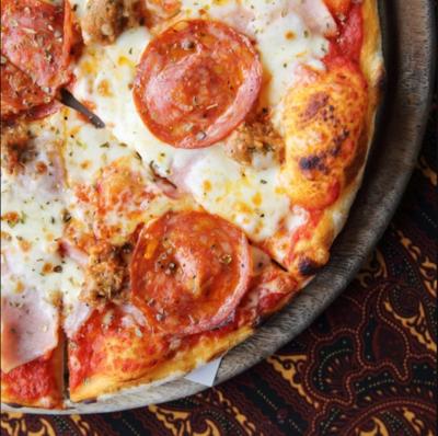 Keto Pepperoni Pizza!!