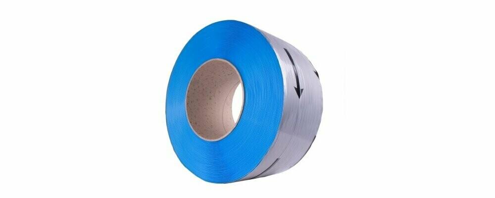 PP band 12x0,55x200mm  3.000m Blauw