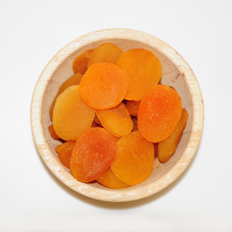 Abrikozen gezwaveld