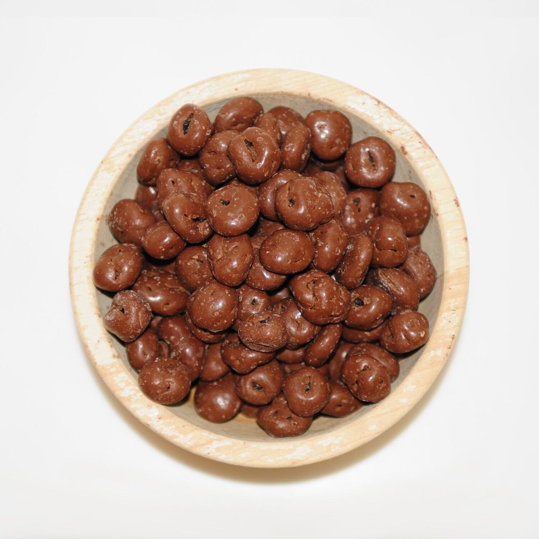 Chocolade melk rozijnen