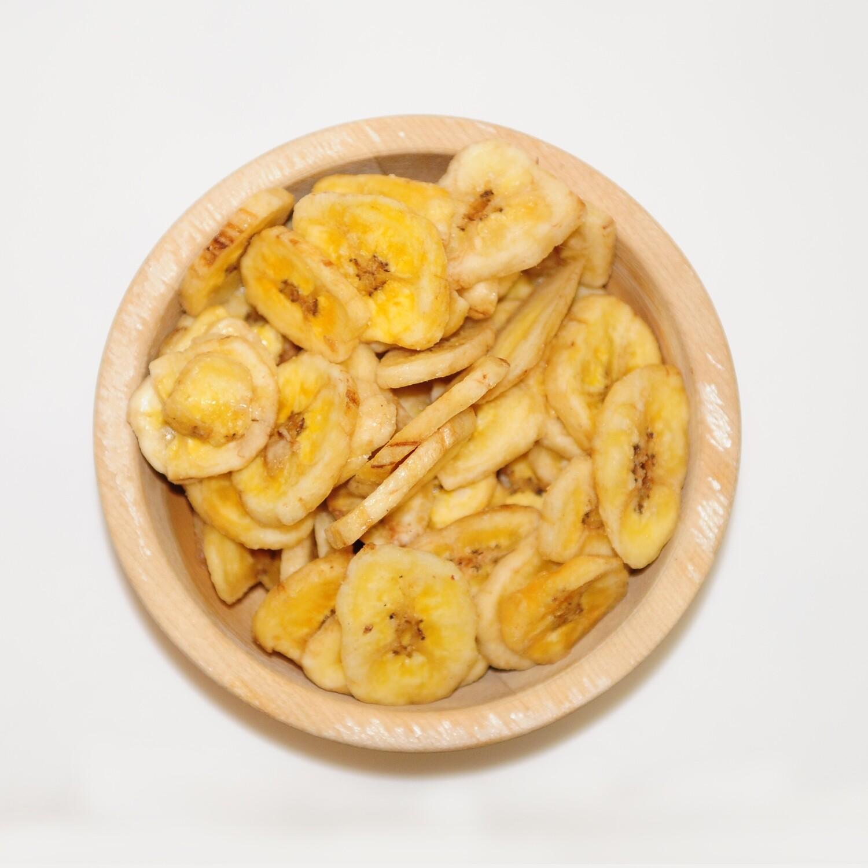 Bananenchips honingzoet