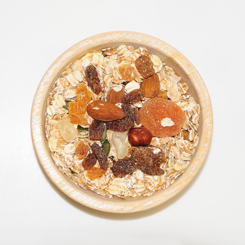 Muesli noten en vruchten